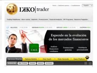 tutorial de apertura de cuenta en Ikkotrader